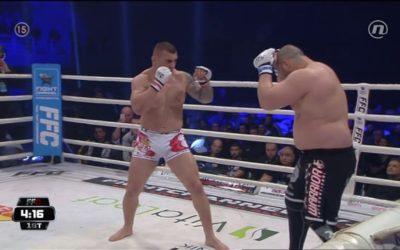 Stošić brutalno išutirao Bugarina od 130 kg i odbranio titulu: Sudija morao da prekine borbu posle 2 minuta (VIDEO)