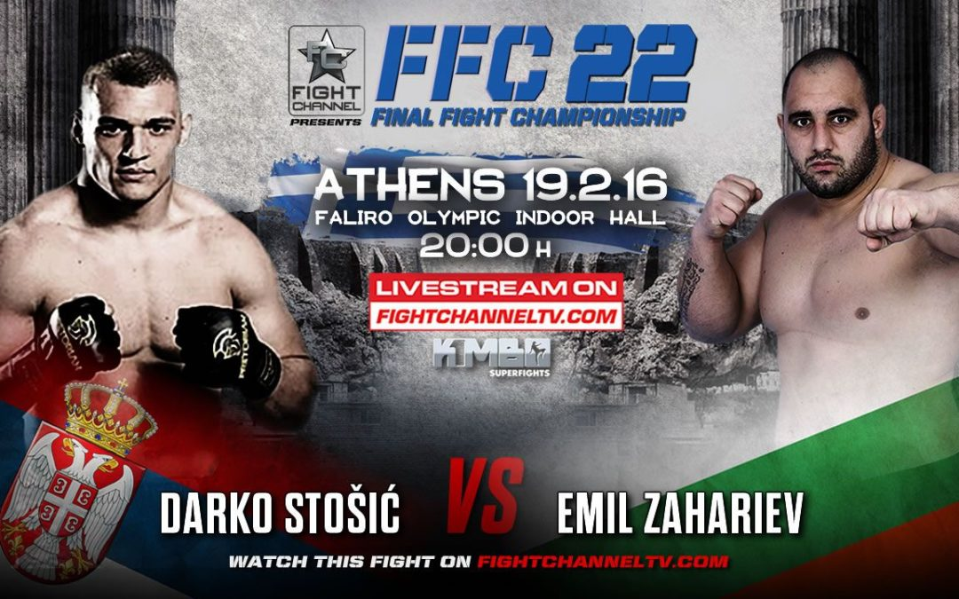 Darko Stošić, naš MMA borac i evropski šampion, brani titulu u Atini