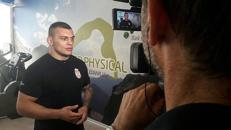 Darko Stošić intervju za Blic TV – Sledeći meč !