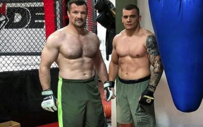 Cro Cop Team with Darko Stosic